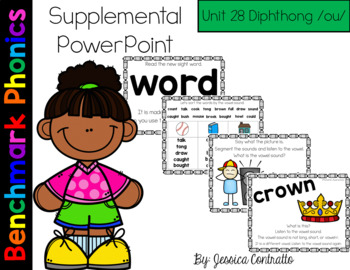 Benchmark Literacy Phonics Unit 28