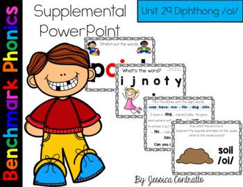 Benchmark Literacy Phonics Unit 29