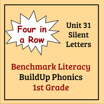 Benchmark Literacy Phonics 1st Grade Unit 31 Four in a Row