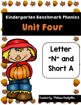 Benchmark Literacy Phonics Unit 4 Kindergarten