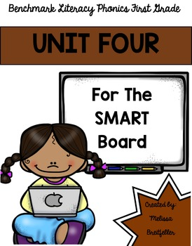 Benchmark Literacy Phonics Unit 4 for the SMART Board