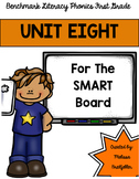 Benchmark Literacy Phonics Unit 8 for the SMART Board