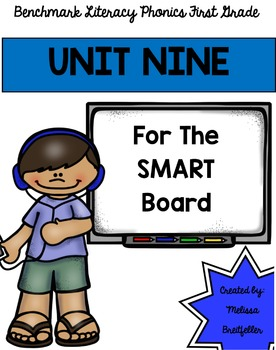 Benchmark Literacy Phonics Unit 9 for the SMART Board