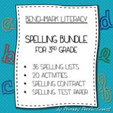 Benchmark Literacy Spelling Bundle - Grade 3