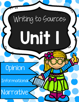 Benchmark Literacy: Writing to Sources Journal Prompts