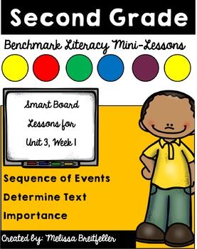 Benchmark Literacy for Second Grade Unit 3 Week 1