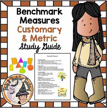 Benchmark Measures Customary Metric Length Weight Mass Capacity Volume