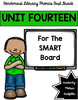 Benchmark Literacy Phonics Unit 14 for the SMART Board