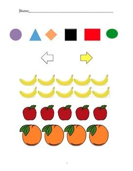 Benchmark Questionnaire for Pre-K to Kindergarten