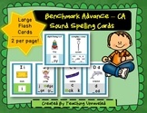 Benchmark Advance Sound Spelling Cards - Large Cards