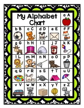 Benchmark TK Alphabet Wall Cards