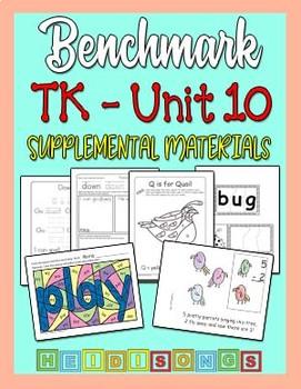 Benchmark TK Unit 10 - Supplemental Materials