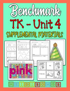 Benchmark TK Unit 4 - Supplemental Materials