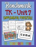 Benchmark TK Unit 7 - Supplemental Materials