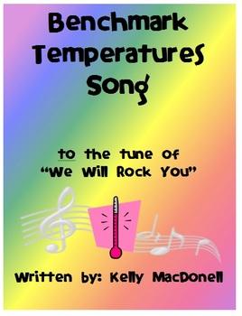 Benchmark Temperatures Song