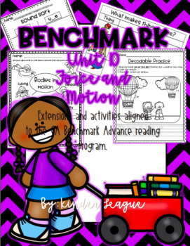 "Benchmark Unit 10- ""Force and Motion"" Activities and Extensions by KL"