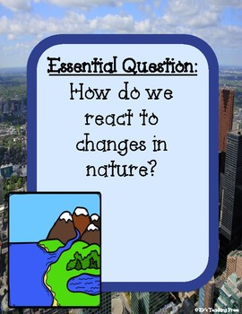 Benchmark-Unit 8: Wind and Water Change Earth (2nd Grade) Supplemental Resource