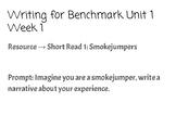 Benchmark Writing: 2nd Grade Unit 1 Week 1