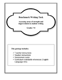 Benchmark Writing- Assessing Student Capability in Grades 7 and 8