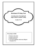 Benchmark Writing- Assessing Student Capability in grades 11 and 12