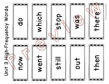 Benchmark advance 1st Grade - Sight Words Game Boards
