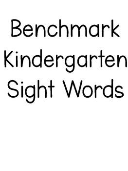 Benchmark Word Wall