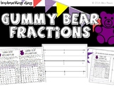 Benchmarking Fractions Using Gummy Bears