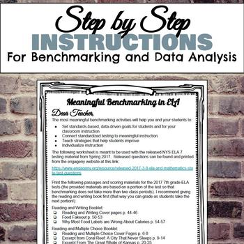 Benchmarking and Data Analysis for 7th Grade ELA