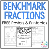 Benchmark Fractions Poster and Worksheets
