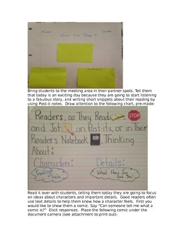 Bend 2 Lessons of Building a Reading Life Unit of Study Gr 3