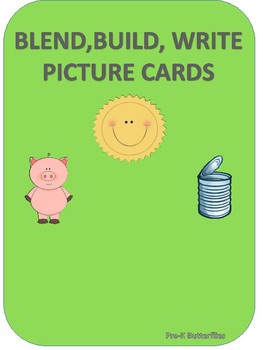 Blend, Build, Write Picture Cards