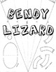 Bendy Lizard Instructions and Cutting Template