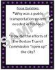 Beneath the Streets of Boston by Joe McKendry - Imagine It!  6th Grade