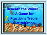 Beneath the Waves - A Game for Practicing the Notes in the