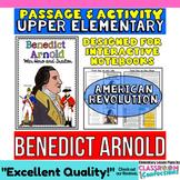 Benedict Arnold Biography Reading Passage: Non-Fiction Reading Passage