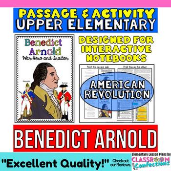 Benedict Arnold Biography Reading Passage: Non-Fiction Rea