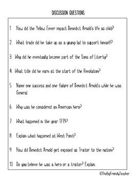 Benedict Arnold:  Hero or Traitor?