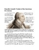 Benedict Arnold Reading and Questions