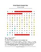 Benedict Arnold Word Search (Grades 4-5)