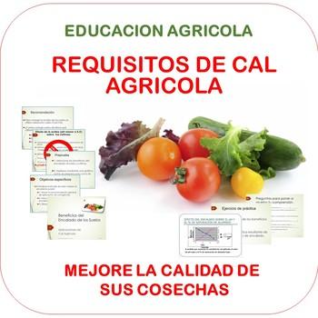 Beneficios del encalado de los suelos (spanish version)