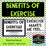 Benefits of Exercise Bulletin Board