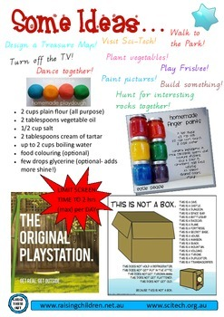 Benefits of Play Flyer