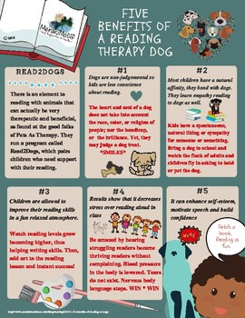 Benefits of a Reading Therapy Dog