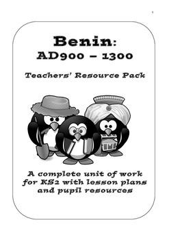 Benin Kingdom AD 900-1300 Resource Pack