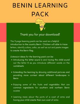 Benin Learning Pack