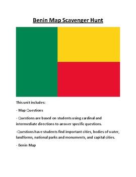 Benin Map Scavenger Hunt