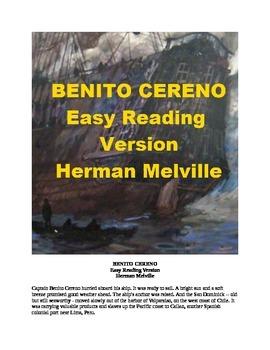 Benito Cereno Mp3 and Easy Reading Text