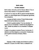 Benito Juarez: Heroe Mexicano