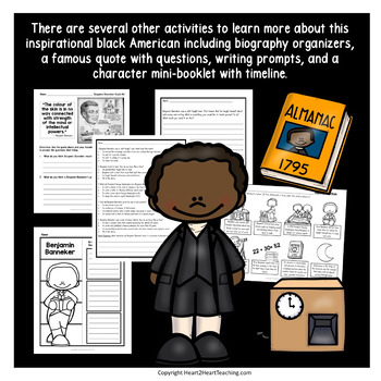 The Life Story of Benjamin Banneker Activity Pack