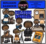 Benjamin Banneker Clip Art Bundle  {Educlips Clipart}